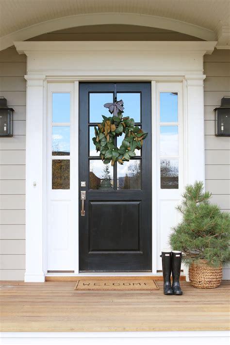 front door entrance decorating ideas front door decor magnolia wreaths studio mcgee