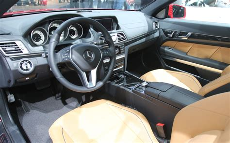 2014 mercedes e class coupe interior photo 5