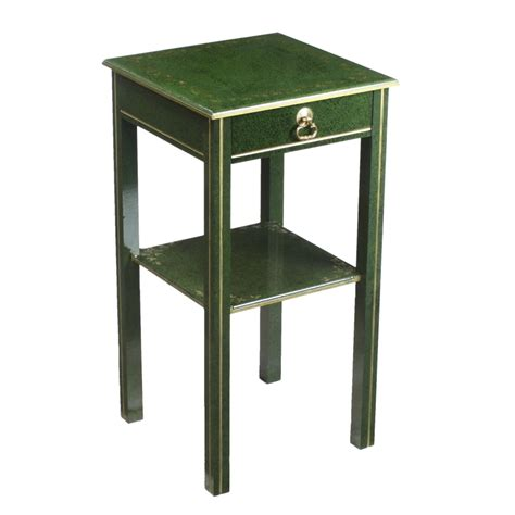 Bedside L Stand by Green Gilded Marble Trompe L Oeil Bedside Stand Table Deco 1900 1950