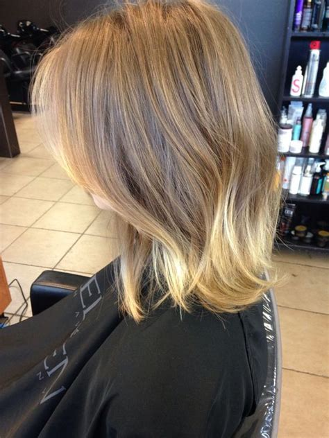 ombre lob hair sombre soft ombr 233 gold blonde gold ombr 233 lob blonde