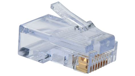 Connector Rj45 Cat 5e Original Usa 100 003b category 5e ez rj45 plugs in a 100 pack