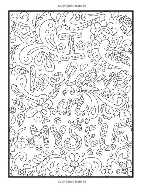 positive affirmation coloring pages related keywords