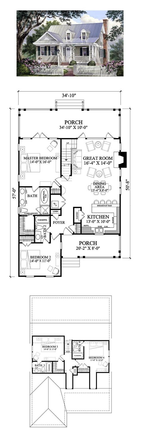 100 house plans walkout basement lakefront home with loft
