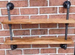 Wood And Iron Bookcase Diy Pallet And Iron Pipe Wall Hanging Shelf Pallet