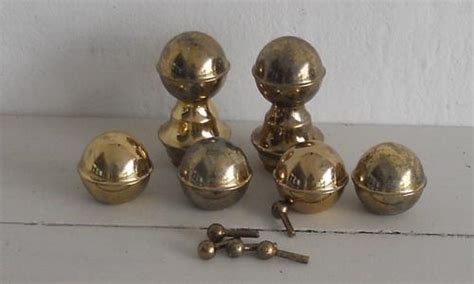 Brass Bed Knobs by Other Antiques Collectables Imitation Brass Bed Knobs