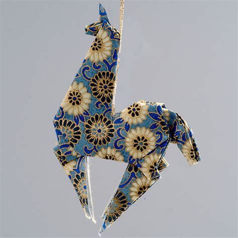 Ornaments Origami - origami animal ornaments paper animal