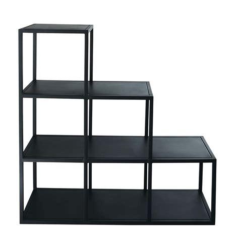 scaffale industriale scaffale nero stile industriale in metallo l 105 cm edison