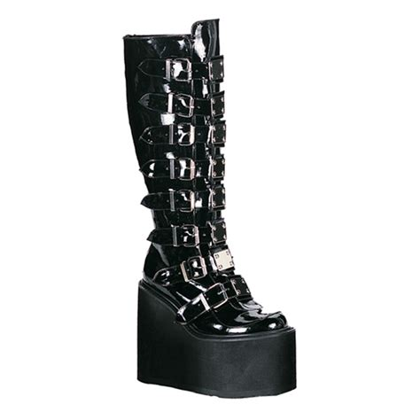 demonia swing boots sinistersoles com gothic boots