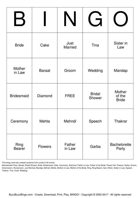 bridal bingo template search results for free printable bridal bingo template