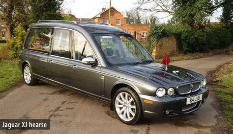 jaguar xj hearse in satellite grey metallic for hire