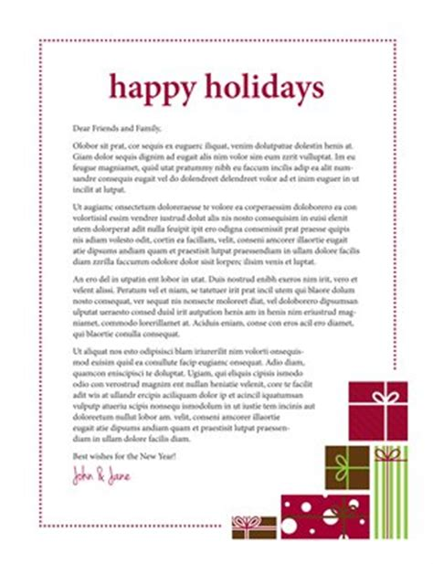 holiday newsletter template interesting newsletters