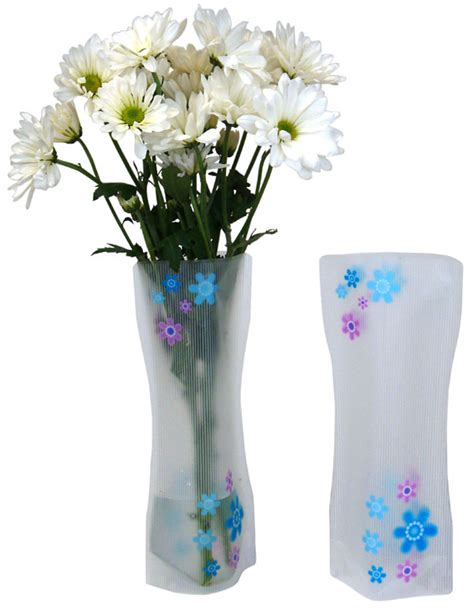 Purple Flower Vase by Plastic Floral Vase Blue Purple Flowers