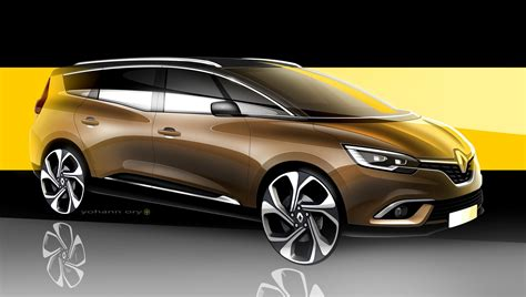 renault grand scenic new grand scenic expands renault s mpv range carscoops