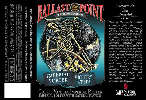sea brewery ballast point victory at sea returns friday brewery teases year