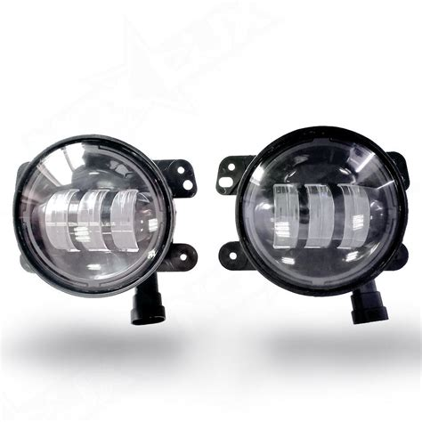 led headlights and fog lights aurora led jeep fog lights ls nox lux