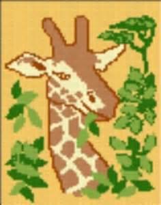 latch hook rug pattern chart giraffe email2u latch