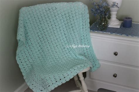 Crochet Baby Blanket Pattern by Lacy Crochet Shells And Chains Baby Blanket My New Pattern