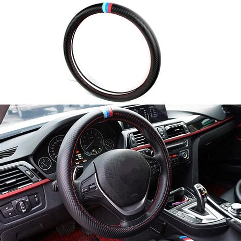 Bmw Interior Parts by Car Styling Steering Wheel Cover Interior Accessories