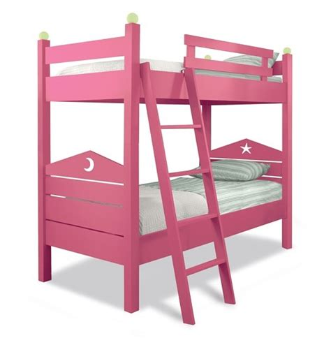 Pink Bunk Beds For Two Is Better Than One 10 Cool Kids Bunk Beds