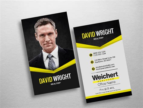 Weichert Business Card Template by Wch207