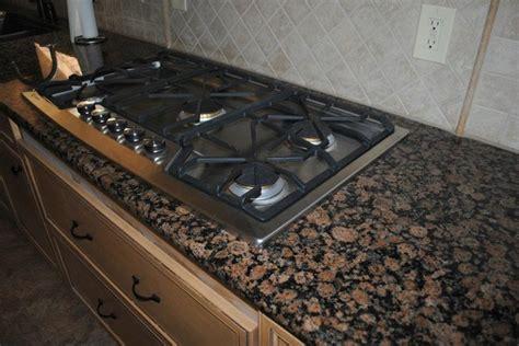 baltic brown backsplash baltic brown granite with tile traditional kitchen