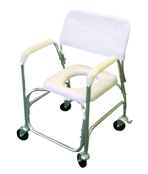 revolution mobility commode mobile shower chair with