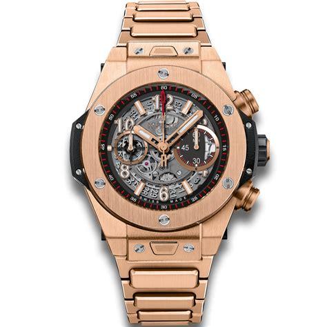 hublot unico king gold bracelet big titanium watches