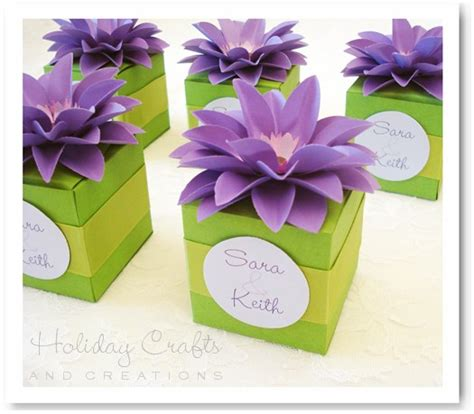 wedding favor box template wedding favor box templates