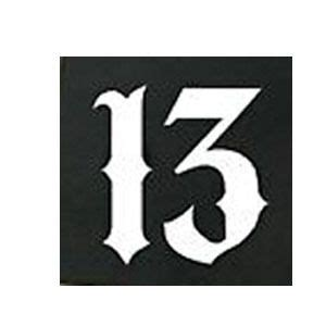 Car Sticker 13 1 Meaning by The 25 Best Number 13 Tattoos Ideas On 13