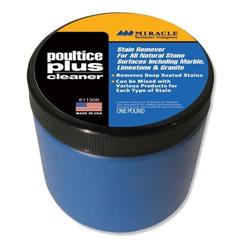 miracle poultice plus cleaner o g industries earth