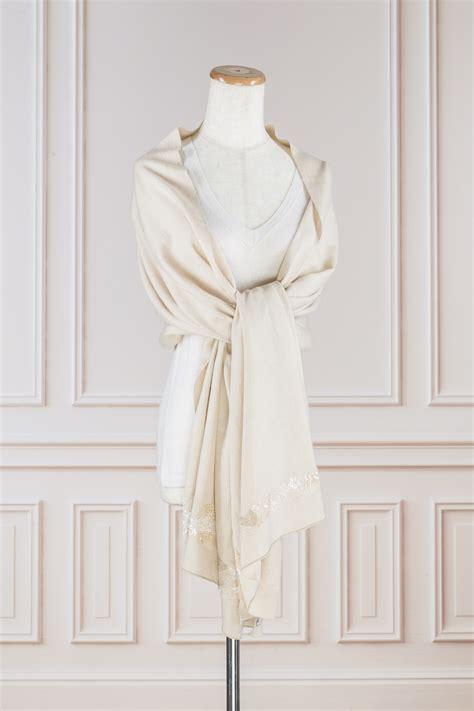 Pashmina Katun Silk 15 30 silk 70 pashmina embellished shawl serenity fair