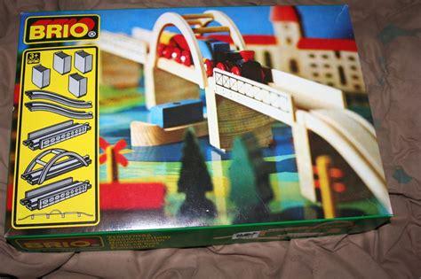 Brio Gift Card Deals - uib brio 9pc vintage bridge 33353 suspension set fits all wooden train track ebay