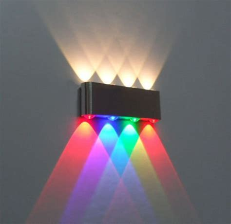 Aliexpress Com Buy New 8w Led Wall Sconce L Lights Colored Lights