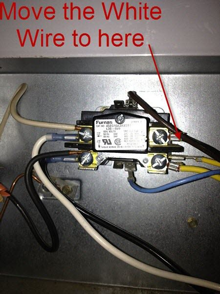 help with 3 wire to 4 wire condenser fan motor hvac