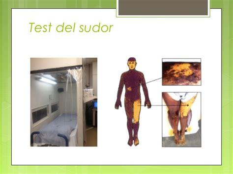 test sudore sistema nervioso vegetativo pptx 1