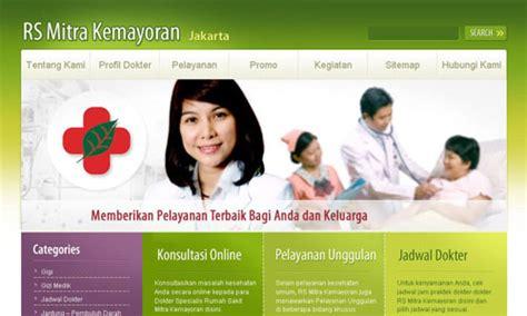 membuat website rumah sakit rumah sakit mitra kemayoran