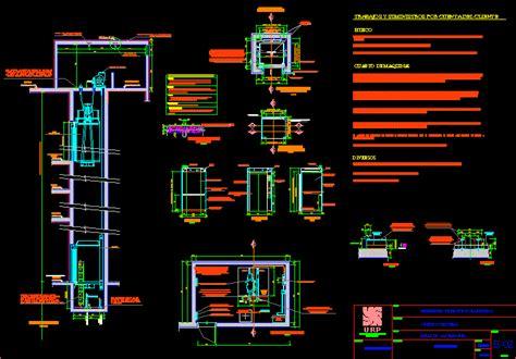detail elevator dwg detail  autocad designs cad