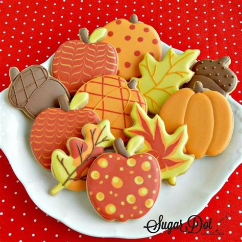 fall decorated cookies best 25 fall decorated cookies ideas on