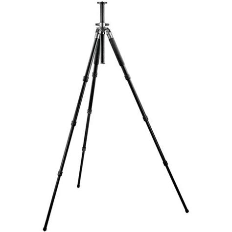 Tripod Stand 4 Section Aluminum Legs With Brace Silverblack gitzo gt3340l 4 section aluminum tripod legs gt3340l b h photo