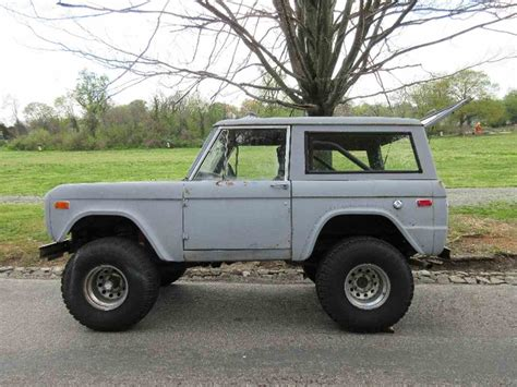 ford broncos for sale 1973 ford bronco for sale classiccars cc 906003