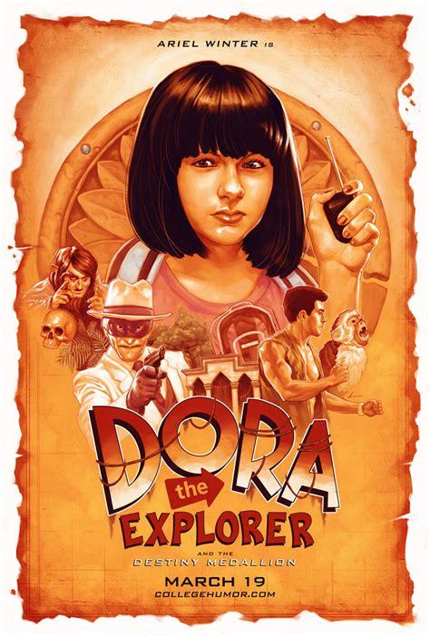 Misteri Film Dora The Explorer | justin erickson illustration graphic design art