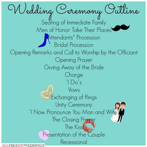 layout of wedding vows wedding ceremony outline wedding my heart and wedding