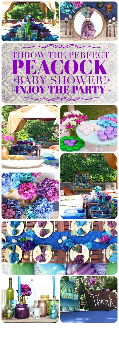 Who Can Throw A Baby Shower by Everything You Need To Throw The Peacock Baby
