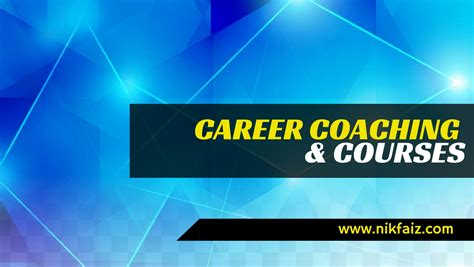 career couch personal career coaching malaysia with career coach nik faiz
