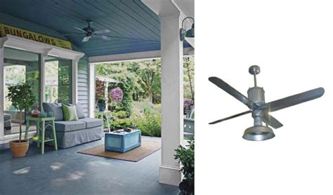 modern farmhouse ceiling fan galvanized ceiling fans add industrial appearance