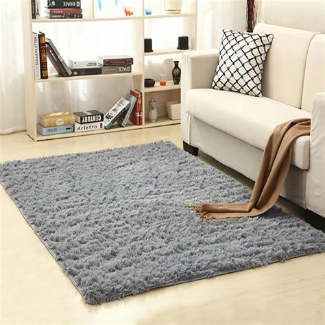 Soft Area Rugs For Living Room - soft indoor modern area rugs fluffy living room carpets