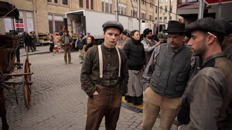 south street seaport looks like early 1900s right now more photos from the set of quot the knick