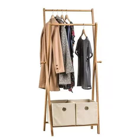 clothes rack with drawers bamboo clothes rack with drawers happy home