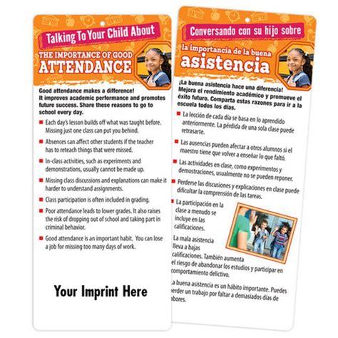 importance  good attendance  sided bilingual glancer