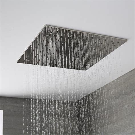 soffione doccia quadrato soffione doccia da incasso quadrato a soffitto quadrato